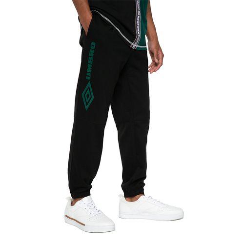 Buzo Jogger Cut Fleece Umbro Hombre Negro