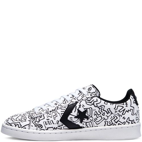 Zapatilla Keith Haring Pro Leather Gold Standard Converse