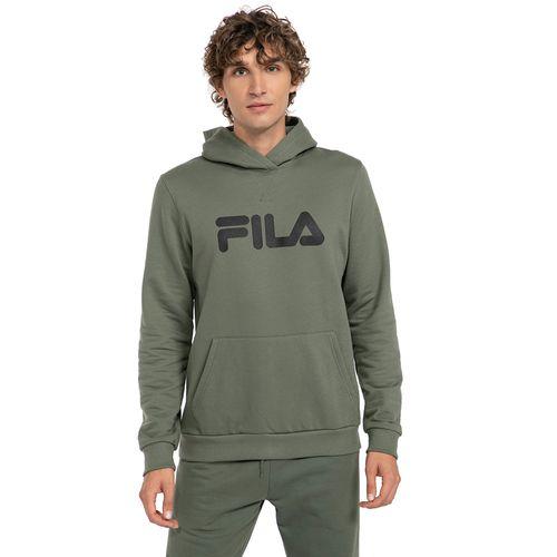 Polerón Letter FILA Hombre Verde Militar