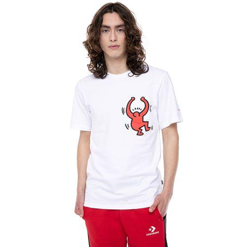 Polera x Keith Haring Converse