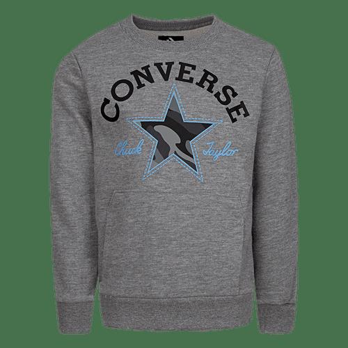 Polerón Cnvb Utility Crew Converse Niños All Star GRIS