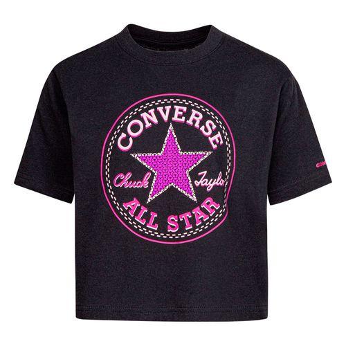 Polera Star Faux Niños Converse